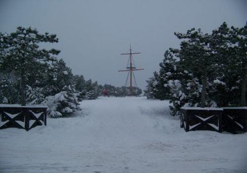 Strandpromenade (zingst-im-winter_100_6316.JPG) wird geladen. Ein Zingster Winter erwartet Sie.